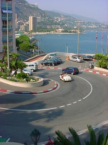 monaco f1 track map. the entire F1 track,
